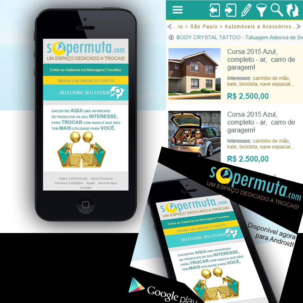 Site Mobile - SÓ PERMUTA
