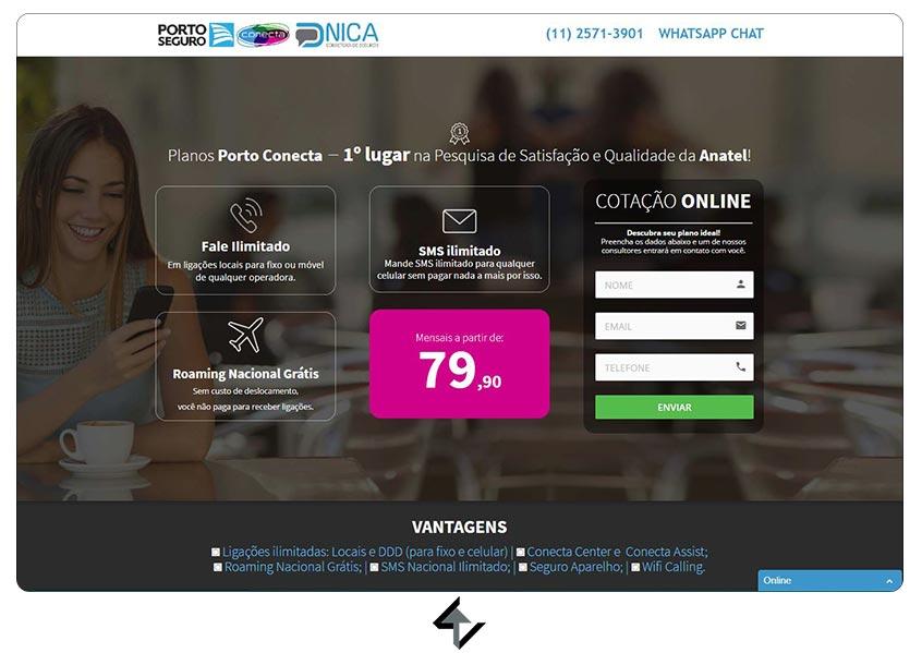 Site - PORTO CONECTA