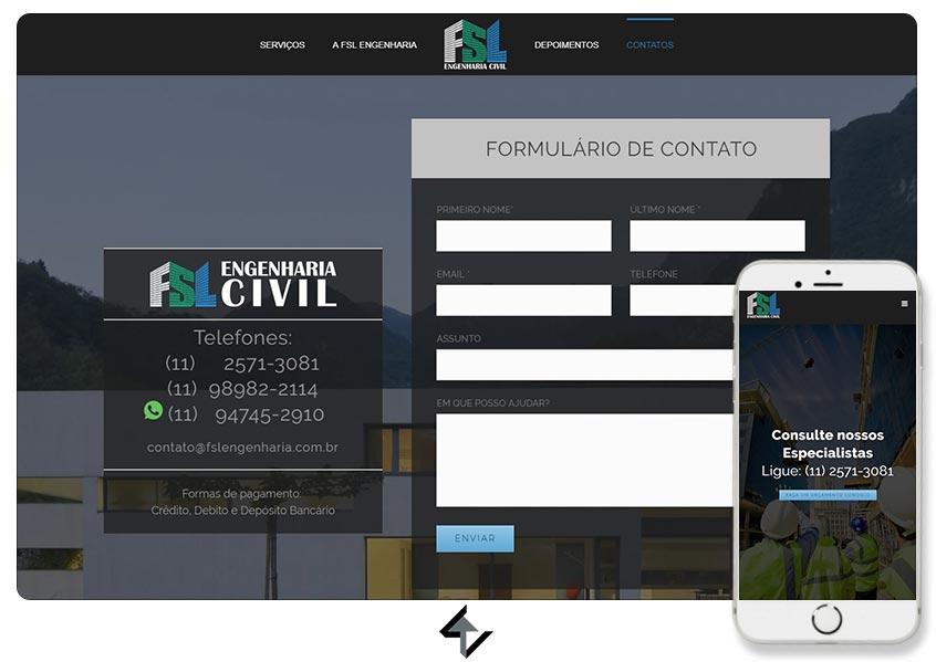 Site - FSL Engenharia