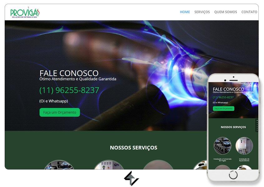 Site - PROVIGÁS